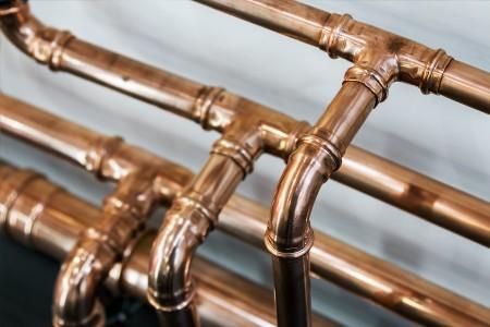 re-routing water lines to repair slab leak