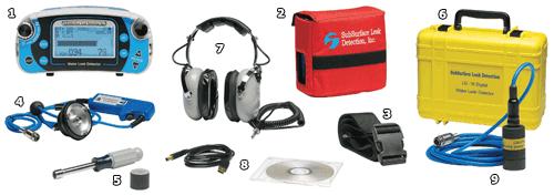 slab leak detection equipment