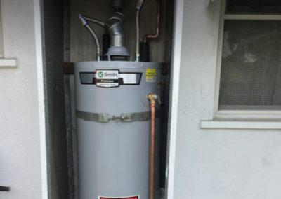 New water heater installed in Corona CA