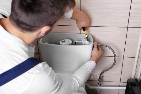 noisy toilet repair