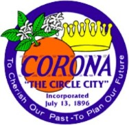 city seal of Corona CA
