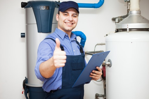 water heater flush and checkup