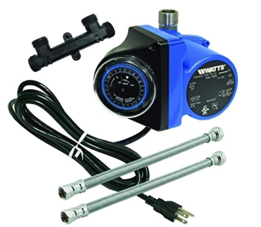 Watts recirculating pump for instant hot water
