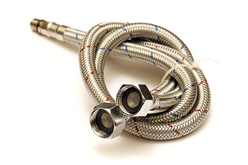 steel braided washing machine hoses