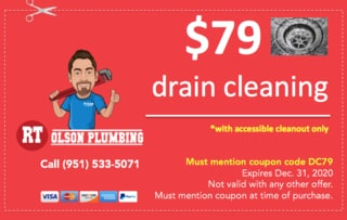 79 drain cleaning special