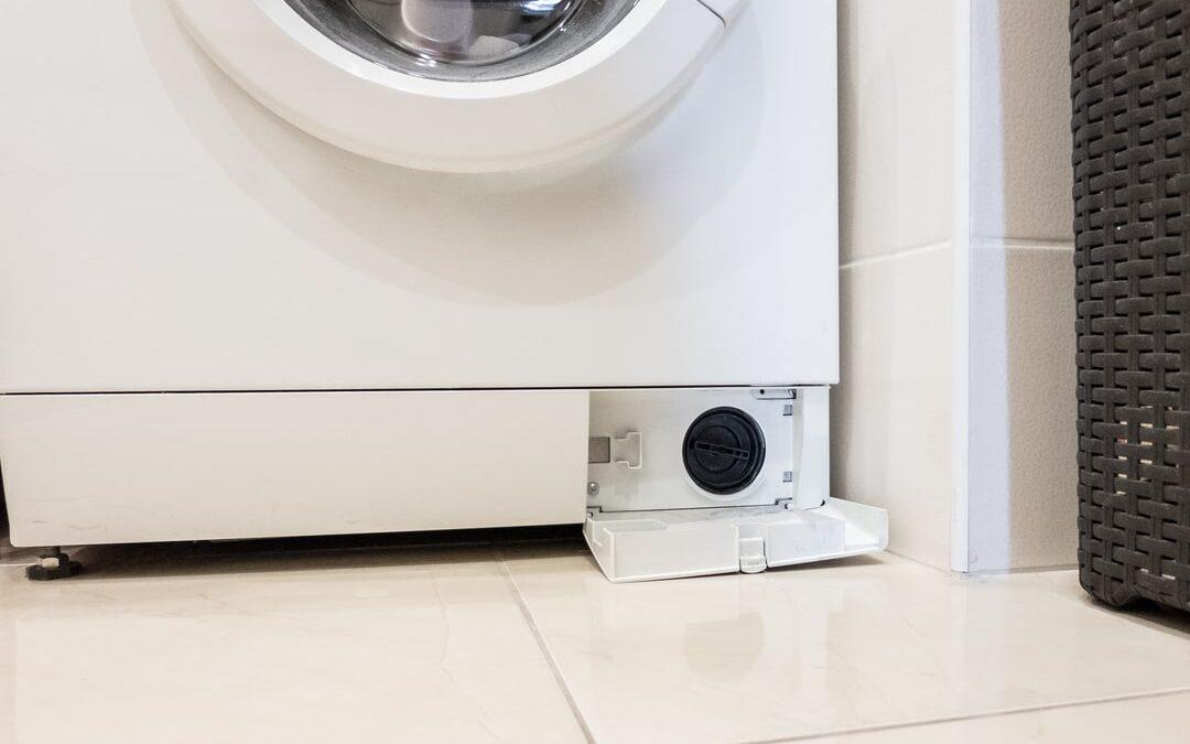 replacing filter on front facing washing machine