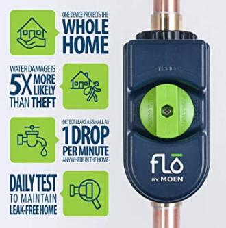 Moen Flo - leak detector and shut off