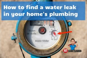 how to find a water leak - featured image