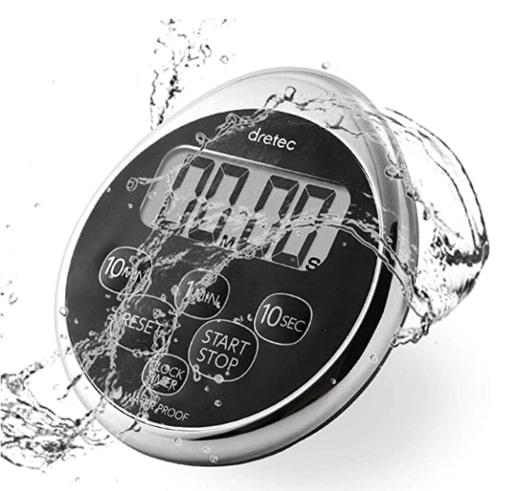 waterproof timer for shorter showers