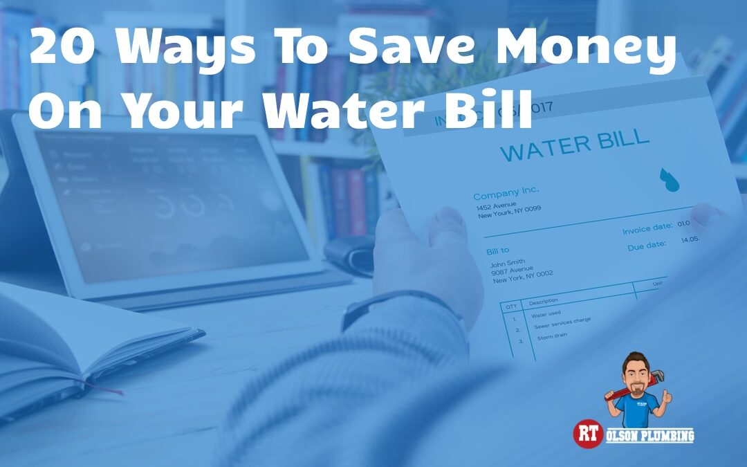 20 Ways to Save Money on Your Water Bill