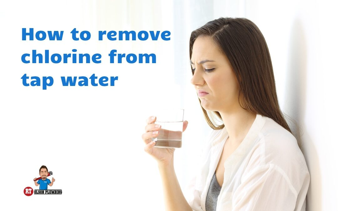 How to remove chlorine form tap water
