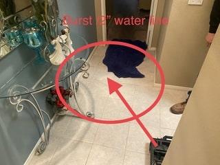 burst water line part 2