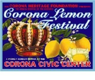 Corona CA lemon festival
