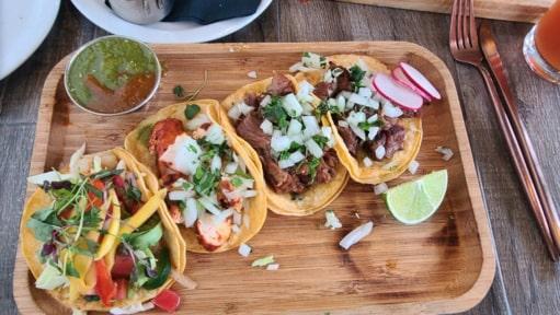 Food from Maiz Cocina in Corona CA