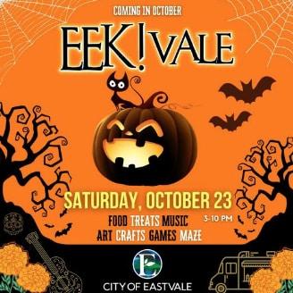 EEK!VALE event in Corona CA